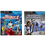 Sports Champions 1 & 2 Dual Bundle Pack [Playstation 3 PS3 Move] New