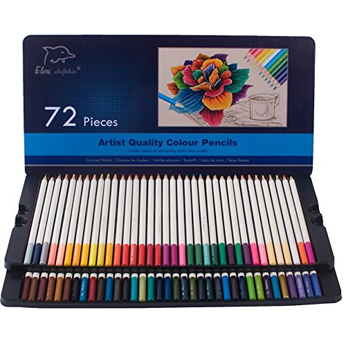 Colored Pencils 72 Pack Supplies Coloring product image