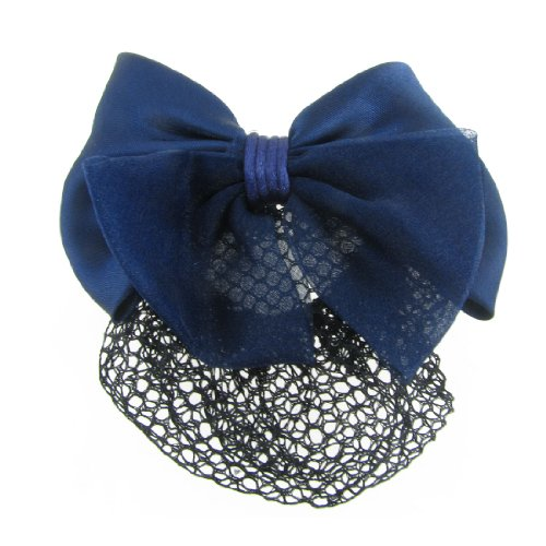 Uxcell Polyester Bowknot Barrette Hairclip