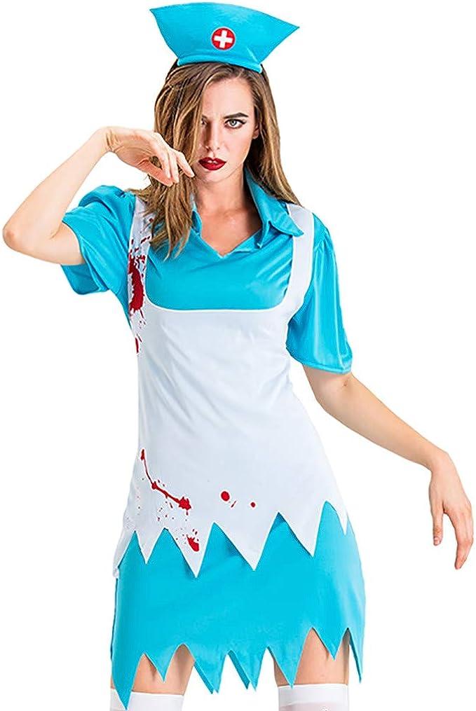 Sloater Lolita Vestido Rodilla Larga Mujeres Halloween Cosplay ...