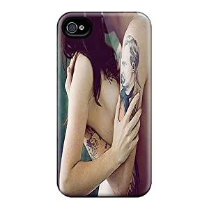 High Grade Saraumes Flexible Tpu Case For Iphone 4/4s - Me And