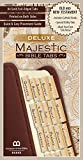 Deluxe Majestic Bible Tabs