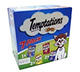 Temptations (2xTasty Chicken, 2xSavory Salmon, 2xHearty Beef, 1xSurfers' Delight) For Sale