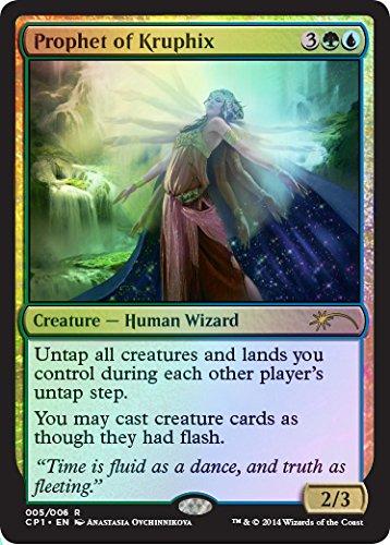 2015 Magic the Gathering Clash Alternate Art Promo Foil Card- Prophet of Kruphix