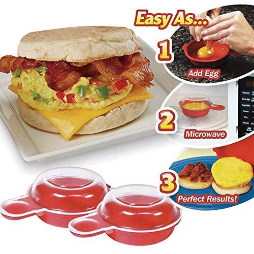Utensilio para hacer huevos huevos en el microondas, queso ...