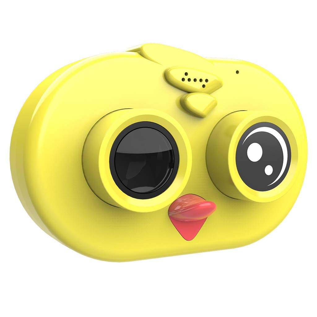 TADAMI WiFi Kids Camera 1080P HD Children Camcorders 2.0 Inch 1080P LCD Gifts for Kids Digital Cameras (Yellow)