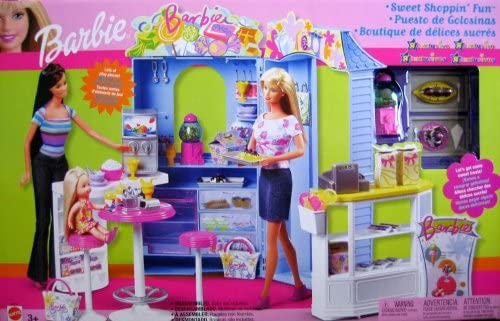 "B000S03PH2 Barbie Sweet Shoppin' Fun Playset ""R"" Exclusive (2003) 518XhbiY-iL."