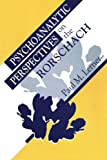 img - for Psychoanalytic Perspectives on the Rorschach book / textbook / text book