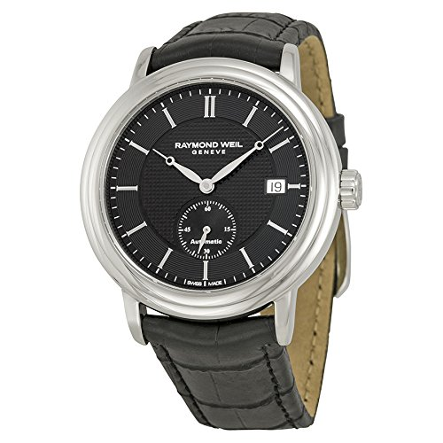 Raymond Weil Men's 2838-STC-20001 Analog Display Swiss Automatic Black Watch - Raymond Weil Sapphire Wrist Watch