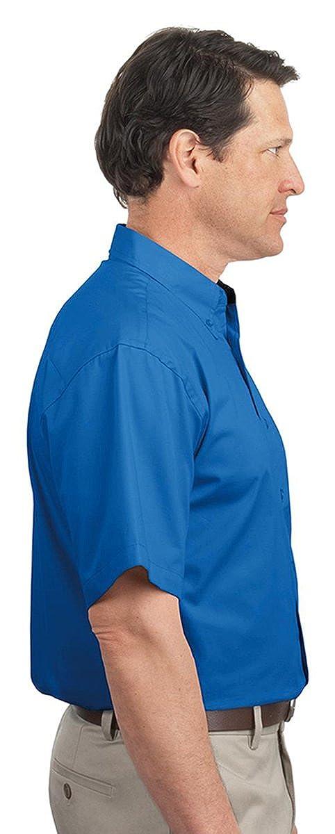 Port Authority Mens Tall Short Sleeve Easy Care