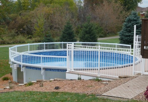 Amazon Com Premium Guard Above Ground Swimming Pool Safety Fence