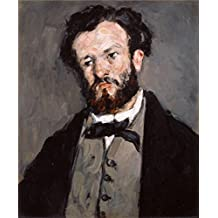 'Portrait of Anthony Valabregue,1870 By Paul Cezanne' oil painting, 12x14 inch / 30x37 cm ,printed on high quality polyster Canvas ,this High Definition Art Decorative Canvas Prints is perfectly suitalbe for Home Office decor and Home gallery art and Gifts