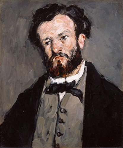 High Quality Polyster Canvas ,the Best Price Art Decorative Canvas Prints Of Oil Painting 'Portrait Of Anthony Valabregue,1870 By Paul Cezanne', 24x29 Inch / 61x73 Cm Is Best For Study Gallery Art And Home Decoration And Gifts]()