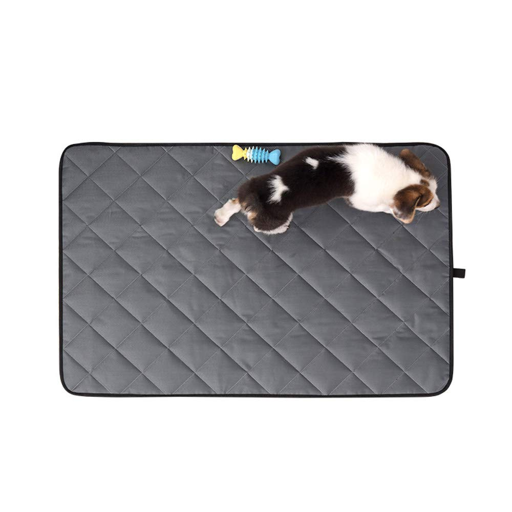 Grey XL Grey XL Pet Pad Summer Cooling Mat,Dog Beds Mats Pet Ice Pad Cool Cold Moisture Proof Cooler Mattress Cushion Puppy Waterproof Non-Slip Car Pet Sleeping Mat,Grey-XL