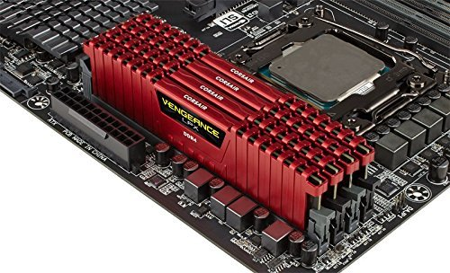 Corsair CMK64GX4M4A2133C13R Vengeance LPX 64GB DDR4 DRAM C13 Memory Kit ( 4X16GB in a Pack)