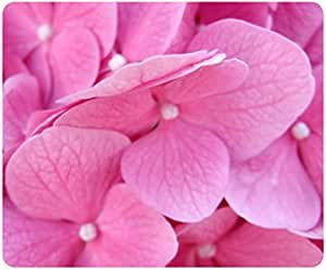 Pink Hydrangea Flower Customized Rectangle Mousepad, Mouse ...