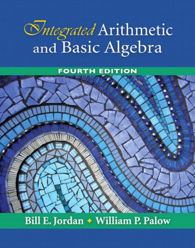 Integrated Arithmetic and Basic Algebra Value Package (includes MyMathLab for WebCT Student Access Kit) (4th Edition)