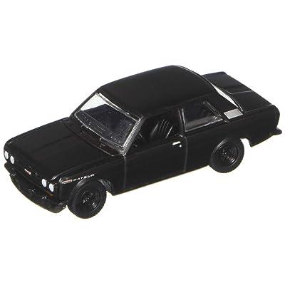Greenlight 1:64 Black Bandit Series 19 - 1968 Datsun 510 Die Cast Vehicles: Toys & Games