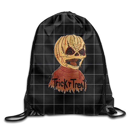 MissMr Trick 'R' Treat Belt Backpack,Fashion Trend, Polyester Sports Bag,Net Red Part,Men's Handbag,Ladies,Teenager,Adult,Outdoor Work,Office,Lunch Box