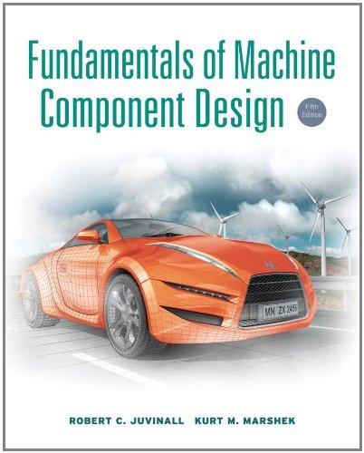 Download Fundamentals of Machine Component Design, 5th Edition Pdf