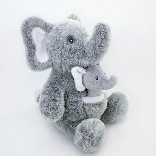 Gund Baby Oh So Soft Elephant & Rattle Combo by GUND (Image #2)