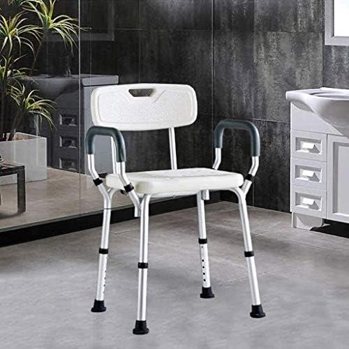 Lszdp-negozio 旅行用バックアーム高さ調節可能なグレート高齢者シャワーバスチェア用浴槽転送ベンチ