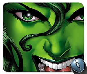 Custom She Hulk Its All Green v1 DC Comics Mouse Pad g4215