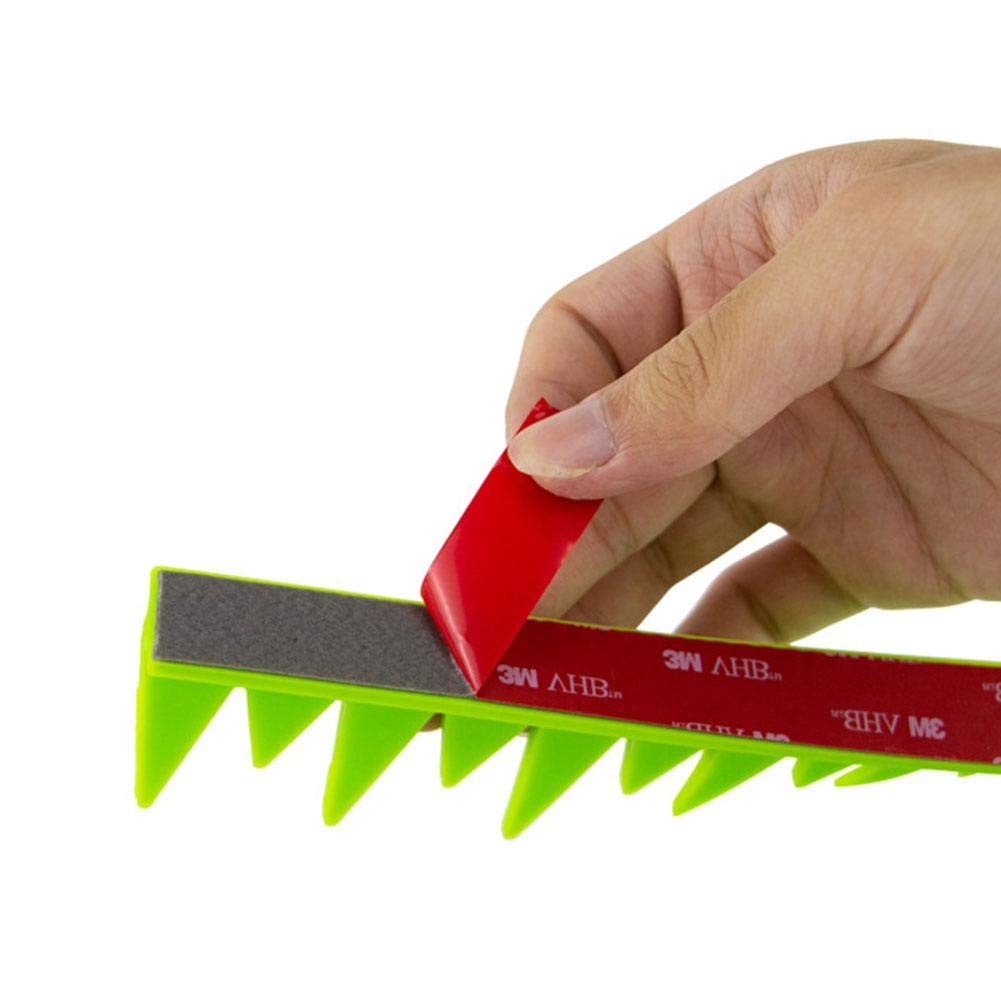 Moto D/écoration Casque De Voiture /Électrique Fin Poulet Couronne T/ête Casques Int/égraux Casque en Caoutchouc Casque Mohawk Peel Stick Spikes KiGoing