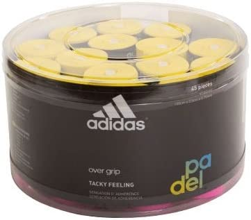 All for Padel Box of overgrip 45 Units Grip, Adultos Unisex, Fluor, Talla Única