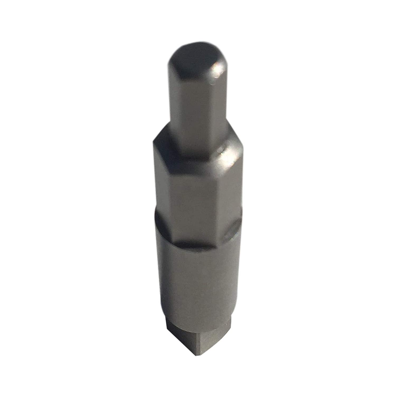 2PK Air Conditioning Service Wrench Step Hex Key AdapterHVAC Valve Opener x