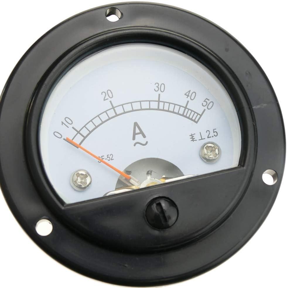 BeMatik Compteur /électrique analogique de Panneau carr/é 72x72mm 10A 5A amp/èrem/ètre
