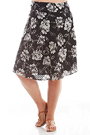 stylzoo s junior plus size knee length a line