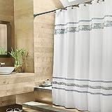 Croscill Spa Tile 70 Inch W X 75 L Fabric Shower Curtain