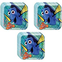 Finding Dory Party Dinner Plates - 24 Pieces