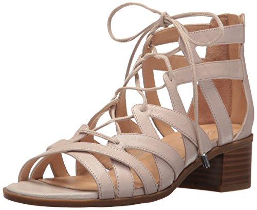Franco Sarto Women L-Ocean Heeled Sandal Satin Taupe