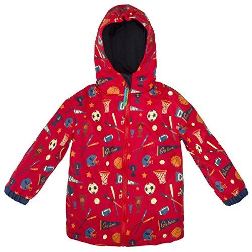 Stephen Joseph Boys' All Over Print Raincoat, Sports, 6/6X by Stephen Joseph (Image #1)