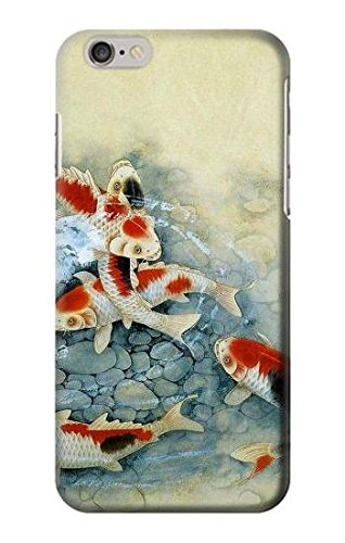 R1654 Koi Carp Fish Art Painting Case Cover For IPHONE 6 6S (Iphone 6 Cases Koi Fish)