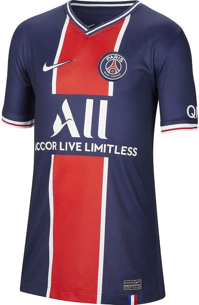 Paris Saint-Germain Home Youth Stadium Soccer Jersey- 2020/21