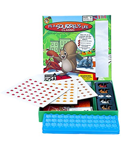(Moxy Roxy It's A Squirrel's Life Board Game, Classic Version)