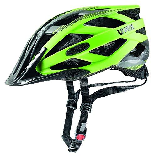 Uvex I-Vo Cc Fahrradhelm, Green-Black Mat, 52-57 cm