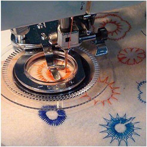 TOOGOO(R) Pie Prensatelas de Maquina de Coser Plata Pie ...