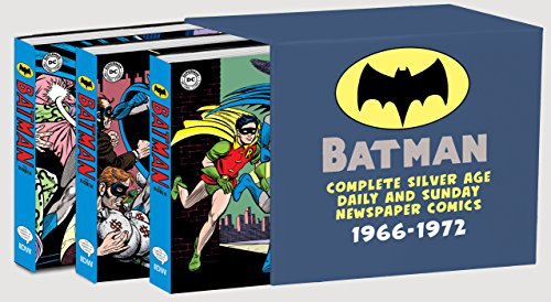 Batman: The Complete Silver Age Newspaper Comics Slipcase Set (Batman Newspaper Comics)