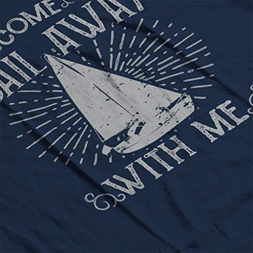 Me Navy Blue Sail Come Women's With Sweatshirt E6wCqw