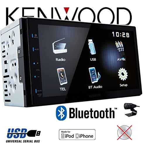 7 TFT Einbauzubeh/ör Autoradio Radio Kenwood DMX110BT MP3 Einbauset f/ür Toyota Corolla E12//120 USB JUST SOUND best choice for caraudio 2DIN Bluetooth