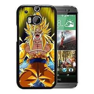 Dragon Ball Z (3) Black Fantastic Style Design HTC ONE M8 Case