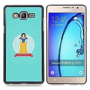 Stuss Case / Funda Carcasa protectora - Nieve Baby Blue Fairytale - Samsung Galaxy On7 O7