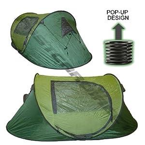 highlander springfast 3 man pop up tent sports outdoors. Black Bedroom Furniture Sets. Home Design Ideas