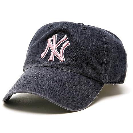 Amazon.com   MLB New York Yankees Women s  47 Brand Clean Up Cap ... 8d2226dcd