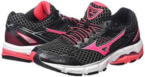 Black Para De Connect silver Wave Zapatillas diva Mujer black Running Wos Pink Mizuno 5I8naYxwqq