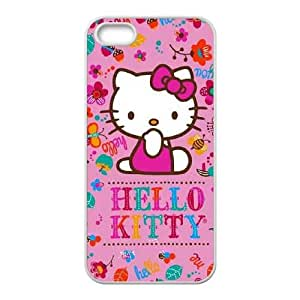 Hello Kitty Smile iPhone 5 5s Cell Phone Case White Delicate gift JIS_262354